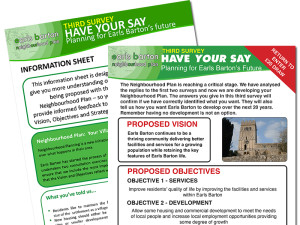 Tell us your preferred option for development in Earls Barton!